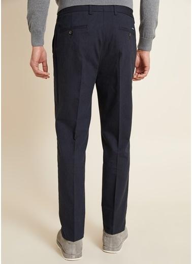 Bisse Regular Fit 4 Cep Kanvas Pantolon Lacivert